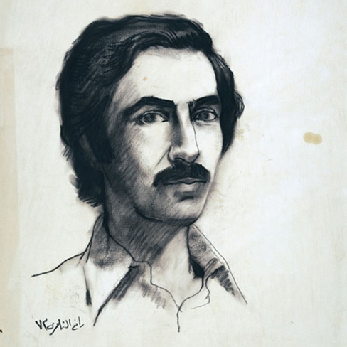 Portrait of Dia Azzawi